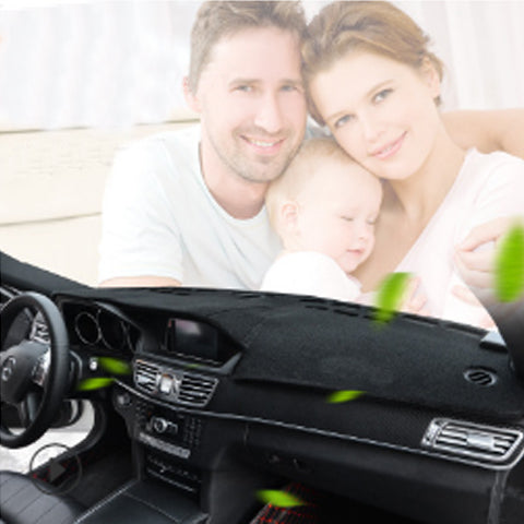 Car Dashboard Cover Mat Carpet Board Avoid Light Mat Black For Cars