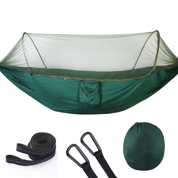 Outdoor Klamboe Parachute Hangmat Draagbare Camping Opknoping Slapen Bed