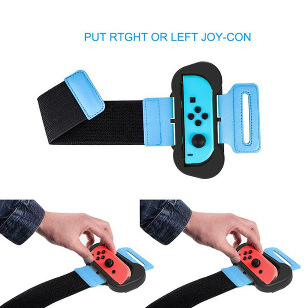 Armband Wrist Band Handband Adjustable Flexible Strap Dance Game Handle Accessories for Nintendo Switch Joy-Con Console