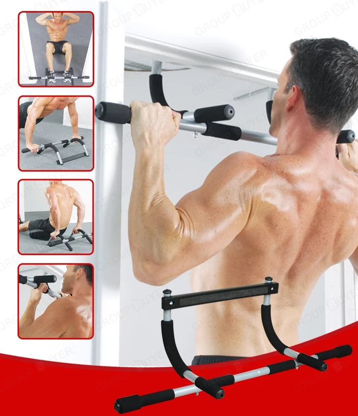 Iron Gym Xtreme Upper Body Workout pull up Chin Bar