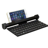 Bluetooth Audio Keyboard Roll-type Multi-function Mobile Phone Holder with microphone