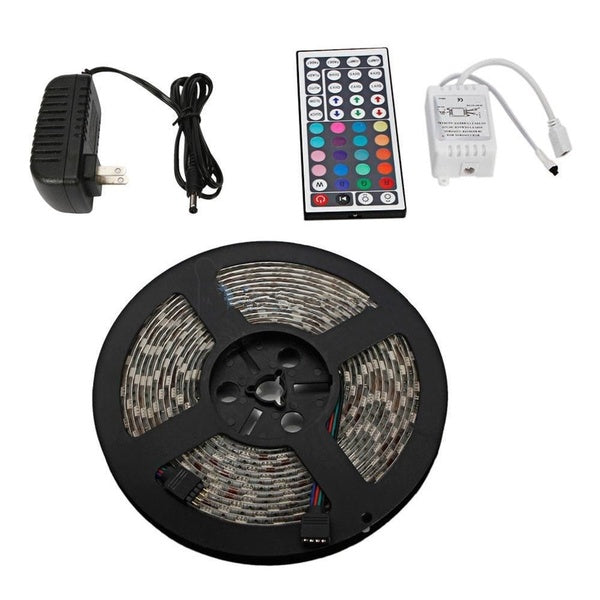 5M 12V Waterproof 300 LED RGB Strip Light 3528 SMD String Ribbon Tape Roll New