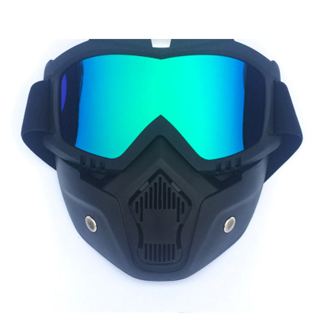 e52d49029 Men Women Cycling Bike Full Face Mask Windproof Shield Goggles Bicycle  Snowboard Ski Masks with Anti
