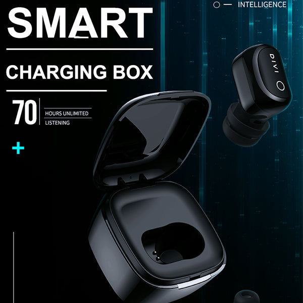 【Original Authentic]】Bluetooth Headset Wireless Mini Earbuds Single Ear iPhone / Android Universal