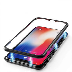 Metal Adsorption Cases for iPhone X XS XR XS Max