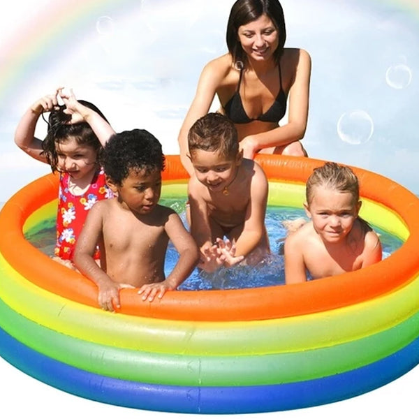 Environmental inflatable swimming pool,portable outdoor children's swimming PVC Products