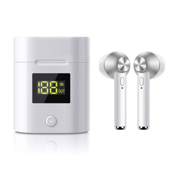 2020 New Bluetooth Headset 5.0 With Battery Display Wireless Binaural In-ear TWS