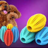 【BUY 1 GET 1 FREE】Pet toy dog & cat bite rubber toy ball