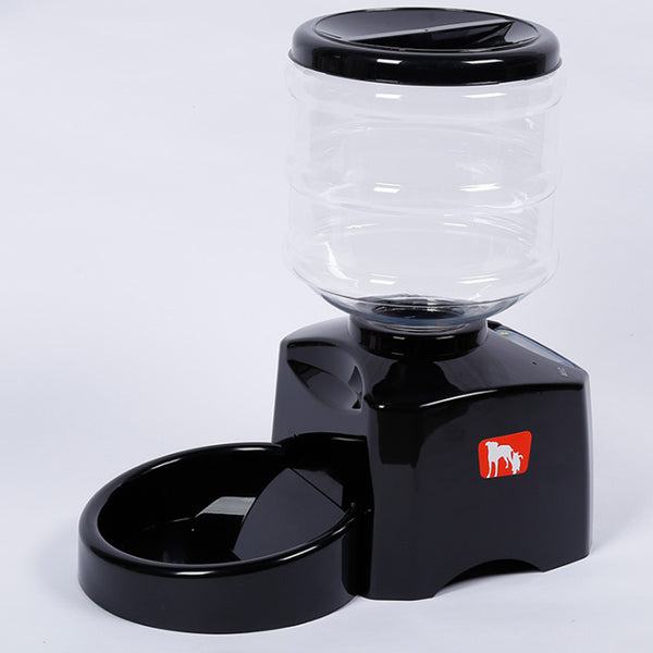 5.5 Liter Recordable Cat And Dog Three Meals Timed Quantitative Feeder