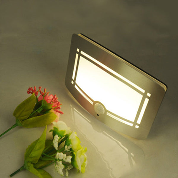 Hollow ladder PIR motion sensor infrared human body induction lamp