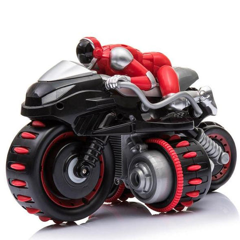 (Special Offer) 2.4GHz Remote Control Drifting RC Stunt Motorcycle