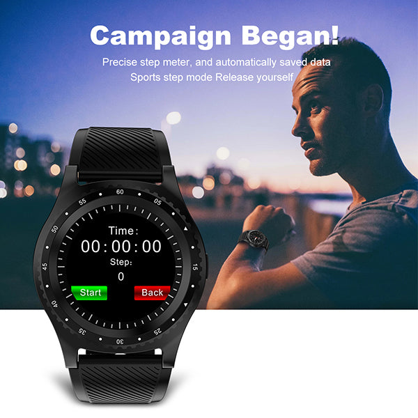 L9 Smart Watch With Passometer Camera SIM Card Call Smartwatch For Xiaomi Huawei HTC Android Phone Better Than Y1 V8 GT08