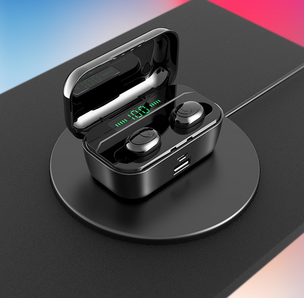 60% OFF-The Strongest True Touch Control Wireless Earbuds(Free Shipping&Free Gifts)