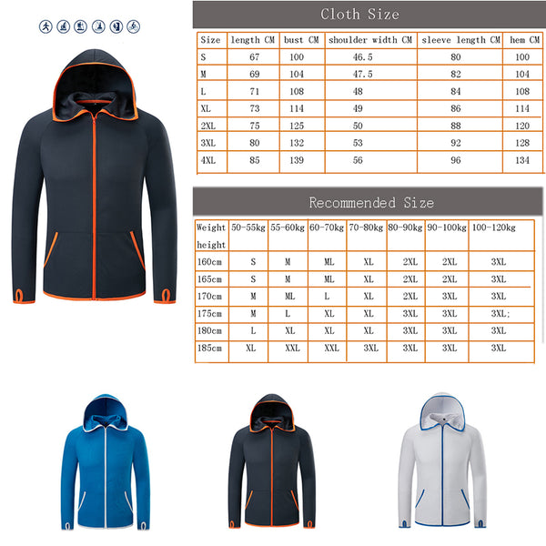 Hooded Jacket Waterproof Anti-fouling Breathable Ultra-thin Clothes