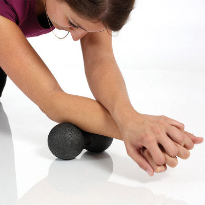 Release Fitness Peanut Massage Ball Fascia Massager Roller Pilates Yoga Gym Relaxing Exercise Equipment Fitness Balls