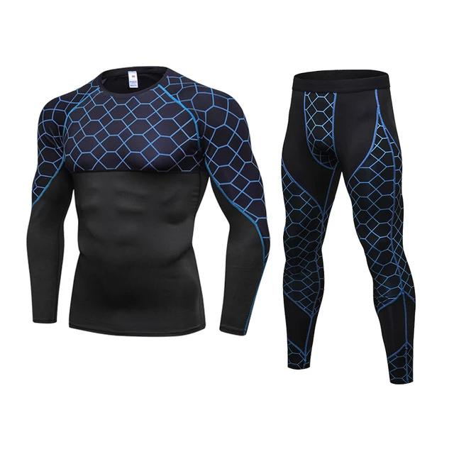 new Sport Suits Quick Dry Runing Jogging T Shirt pants Men Sportswear Soccer Sport Gym Training Set Fitness Breathable Tracksuit