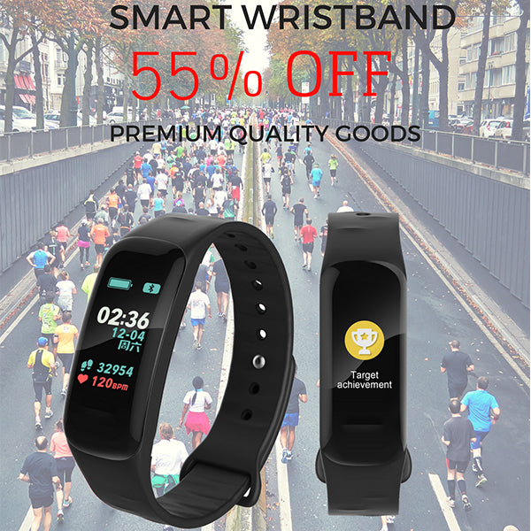 F602 Colour Screen Smart Wristband