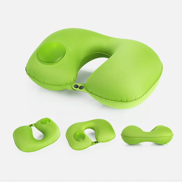 Press Type Air U-Shaped Pillow