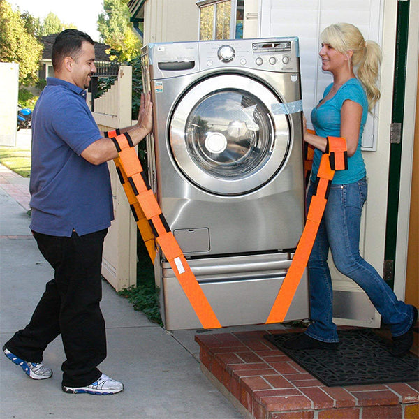 Moving Straps - Move, Lift, Carry, And Secure Furniture, Appliances, Heavy, Bulky Objects Safely, Efficiently, More Easily Like The Pros