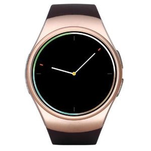 KW18 2.5D Screen 2G Watch Phone TF Card Voice Search Weather Forecast Bluetooth Music Smart Watch