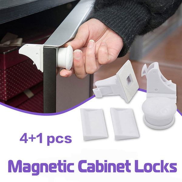Invisible Child Safety Magnetic Lock