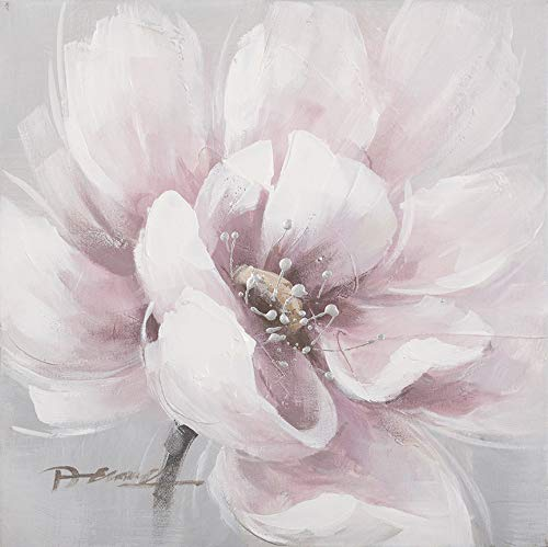 Modern Beauty of Pink Flower Oil Painting Floral Canvas Art Painting 100% Hand Painted
