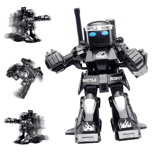 【extra 10% off】RC Battle Boxing Robot Toys Remote Control Humanoid