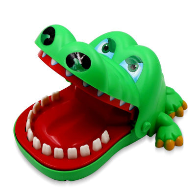 Electric shark biting finger game funny novelty toy