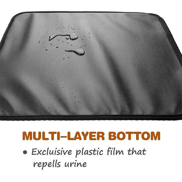 2019 New Double Layer Cat Little Mat - Sliver Ion Antimicrobial