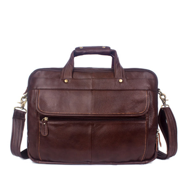 Men Oil Waxy Leather Antique Design Business Briefcase Laptop Document Case Fashion Attache Messenger Bag Tote Portfolio