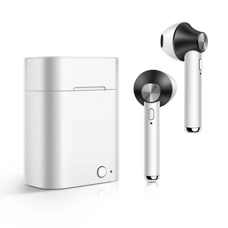 Mini Portable D012 TWS True Wireless Bluetooth 5.0 Headset HiFi Automatic Pairing Stereo Headset Earphone with Mic
