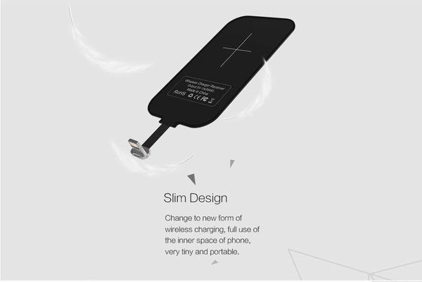 Universal Wireless Charging Receiver(Work for Andriond and iphone )
