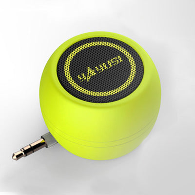Portable Mini HIFI 3D Surround Speaker Inline Mobile Phone Speaker Mini Subwoofer External Portable Amplifier Small Stereo