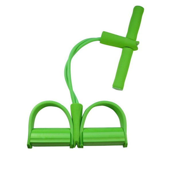 Ankle puller - Single Tube Strong Fitness Resistance Bands Latex Pedal Exerciser