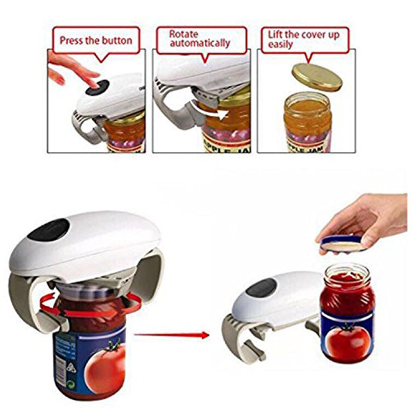 Automatic Jar Opener - Automatic Jar Opener Adjustable