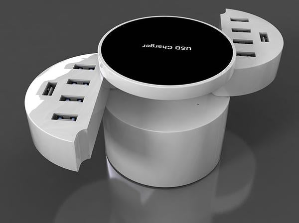 The Most Convenient & Coolest 10-Port Smart USB Charger
