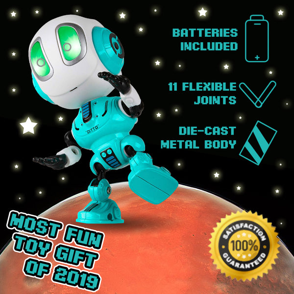 Talking Robot - The Holiday Gift For Kids & Adults