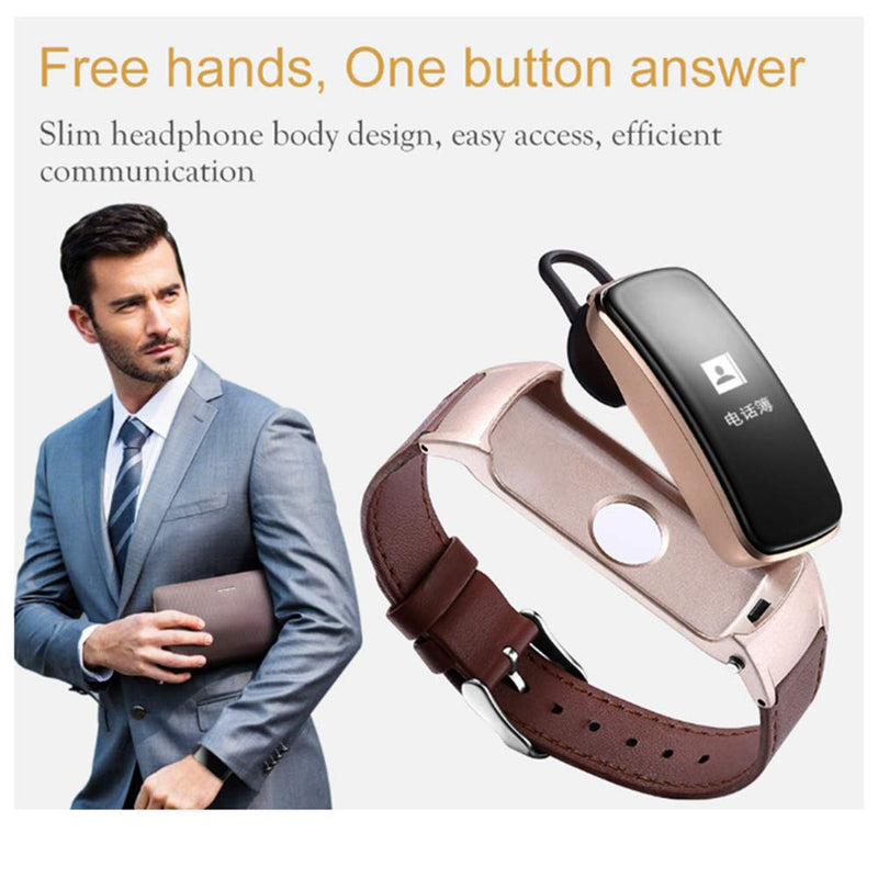 B3 Plus Bluetooth Smart Band New Bluetooth Earphone/Headset Talk Band with Sleep and Heart Rate Monitor Blood Pressure