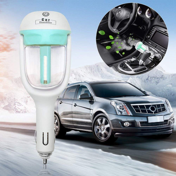【50%OFF】Mini Car Aroma Essential Oil Diffuser Humidifier  Car Air Humidifier Cool Mist Purifier In Car