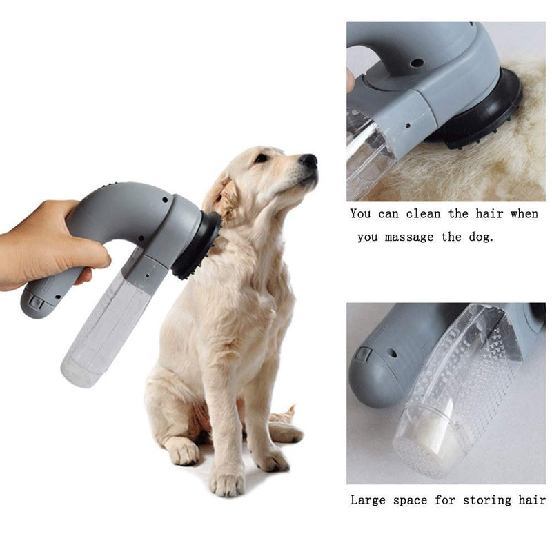 Electric Pet Sucker Pet Electric Cleaning Massager Cleaner Cat Sucker Wireless Carrying