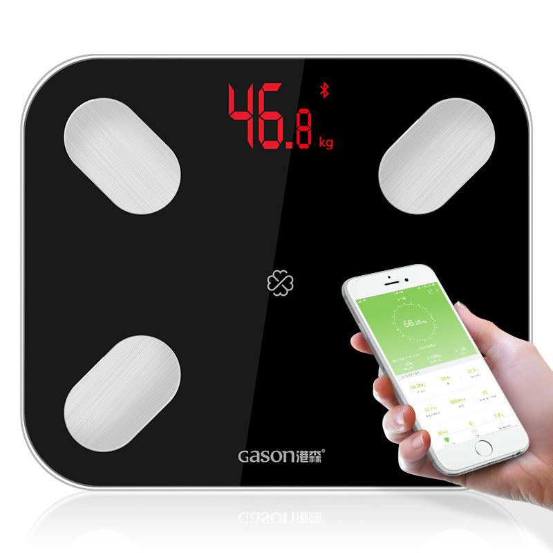 S4 Bluetooth body fat scale electronic body fat health scale
