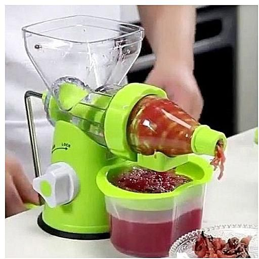 FRUIT AND VEGETABLE MANUAL JUICER