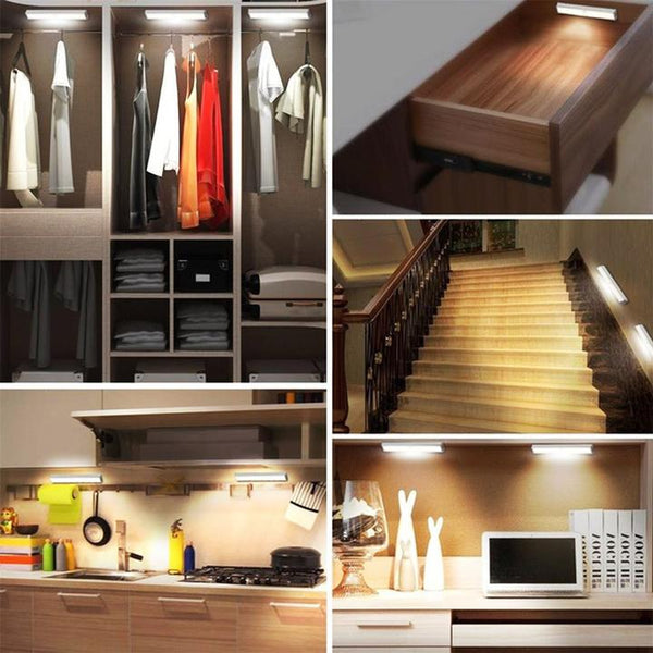 【Upgraded version】LED body induction closet lamp