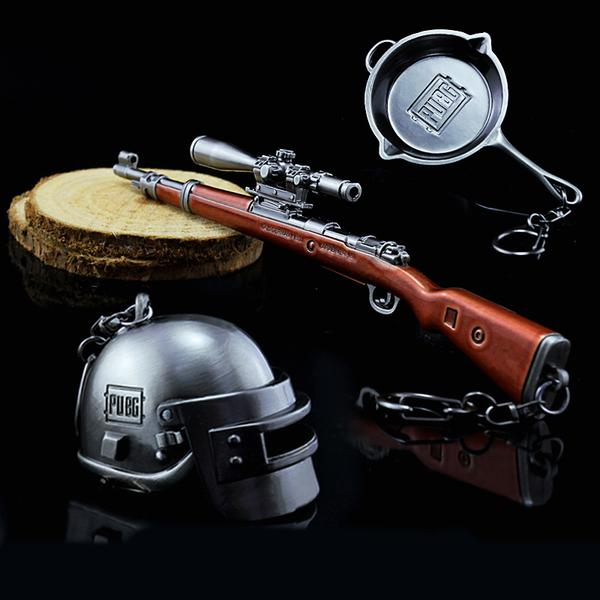 PUBG Level 3 Keyrings Bundle Pack - Yes We Pan