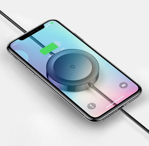 Charge Your Phone Wired or Wirelessly with Lightning Cable Charging Pad
