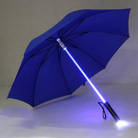 LED Flashlight Umbrella for Night Protection Amusement Park