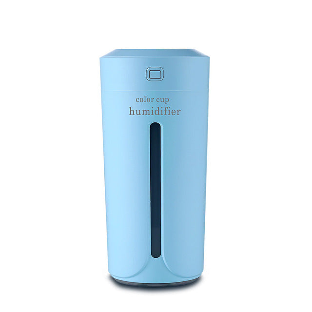 USB Humidifier Ultrasonic Humidifier Essential Oil Diffuser 7 Color Lamp Electric Aromatherapy