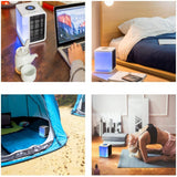New Portable Mini Air Cooler Fan Air Conditioning Fan