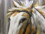 Oil Painting Modern Animal Art Horse Picture Wall Decor Canvas