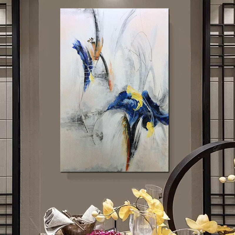 Texture Palette Knife Paintings Modern Home Decor